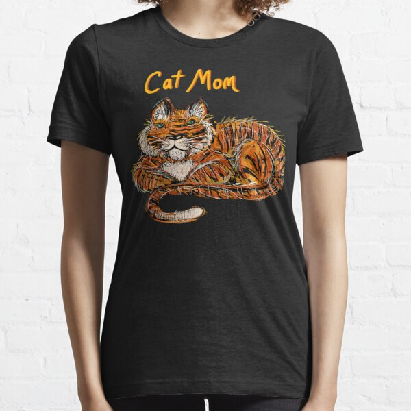 Cat Mom for Tigers Essential T-Shirt
