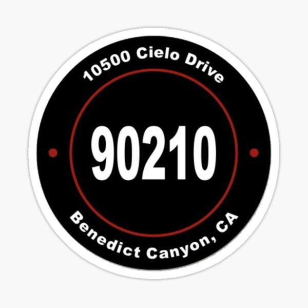 10500 Cielo Drive - Charles Manson  Sticker