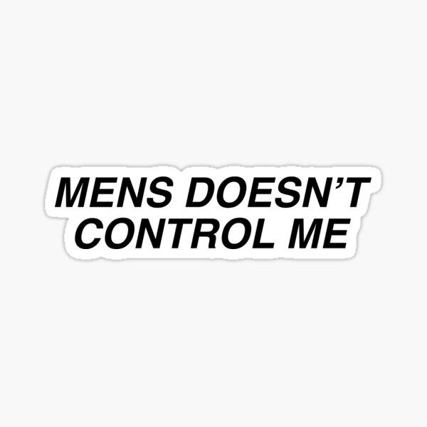 mens doesn't control me julianna 90 day fiance sticker  Sticker