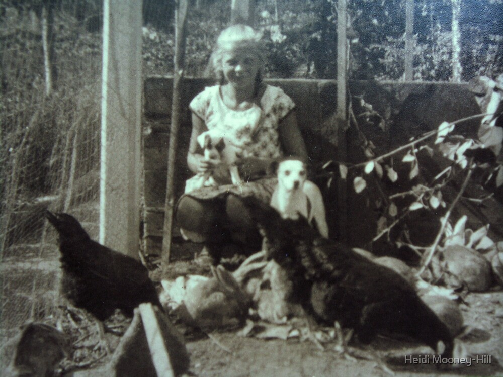 My mother, 1923  by Heidi Mooney-Hill