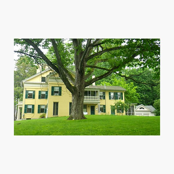 Emily Dickinson's Home Photographic Print
