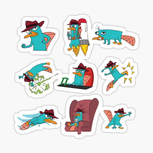 You Can Call Him Agent P Sticker