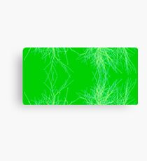 Green Twigs Canvas Print