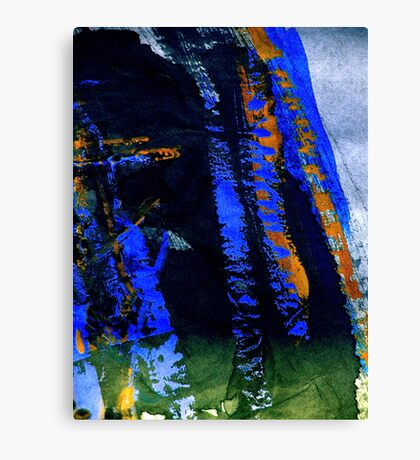 mountain.... blue tinge fall Canvas Print