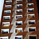 Apartment block, Lisbon, Portugal by Andrew Jones