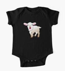 white baby goat  Kids Clothes