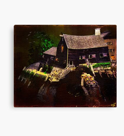 I Dreamed I Visited An Old Gothic Mill....... Canvas Print