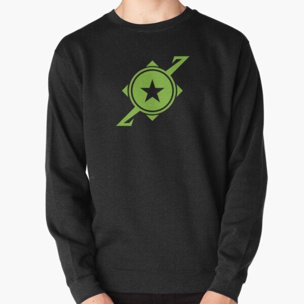 Galaxina Planet Logo - Lime Green Pullover Sweatshirt