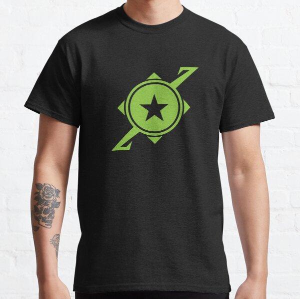 Galaxina Planet Logo - Lime Green Classic T-Shirt