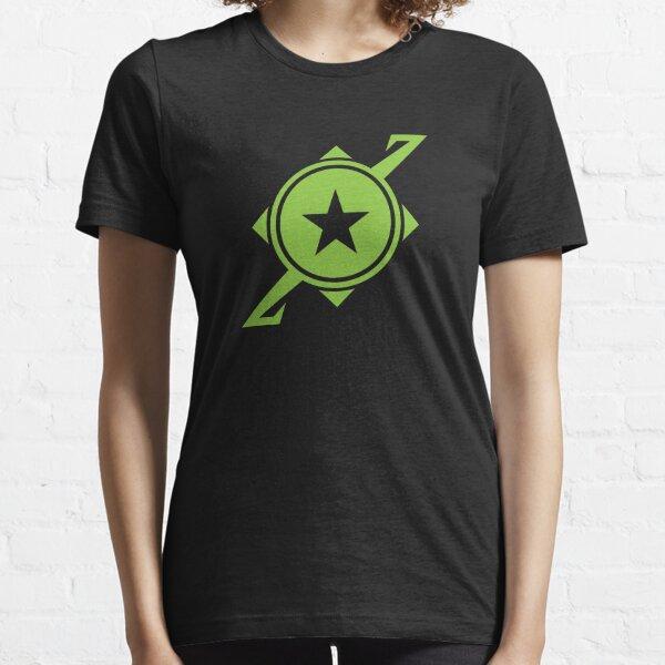 Galaxina Planet Logo - Lime Green Essential T-Shirt