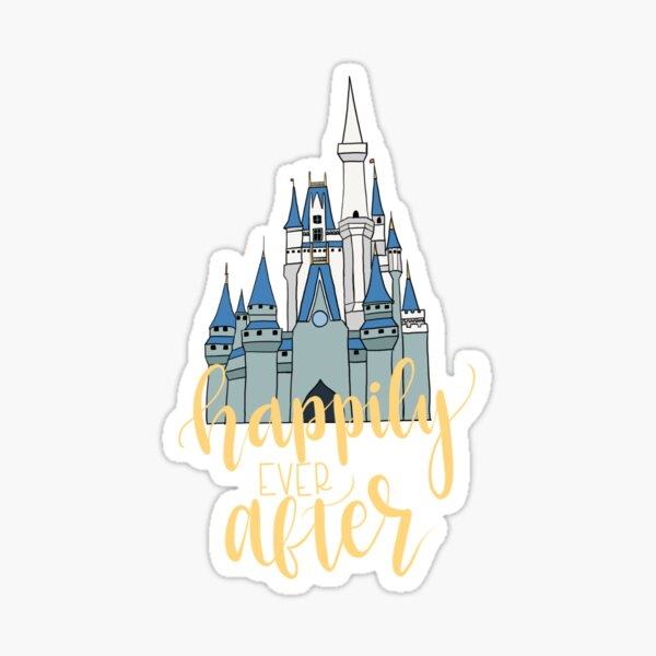Happily Ever After Castle Sticker