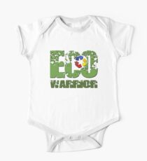 ECO Warrior Baby Body Kurzarm