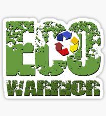 ECO Warrior Sticker