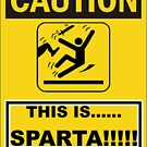 THIS IS.......SPARTA!!!!! by Stephen Kane