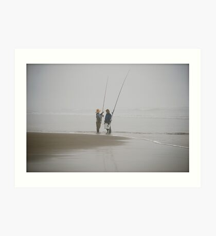 Oregon Fishing Art Print