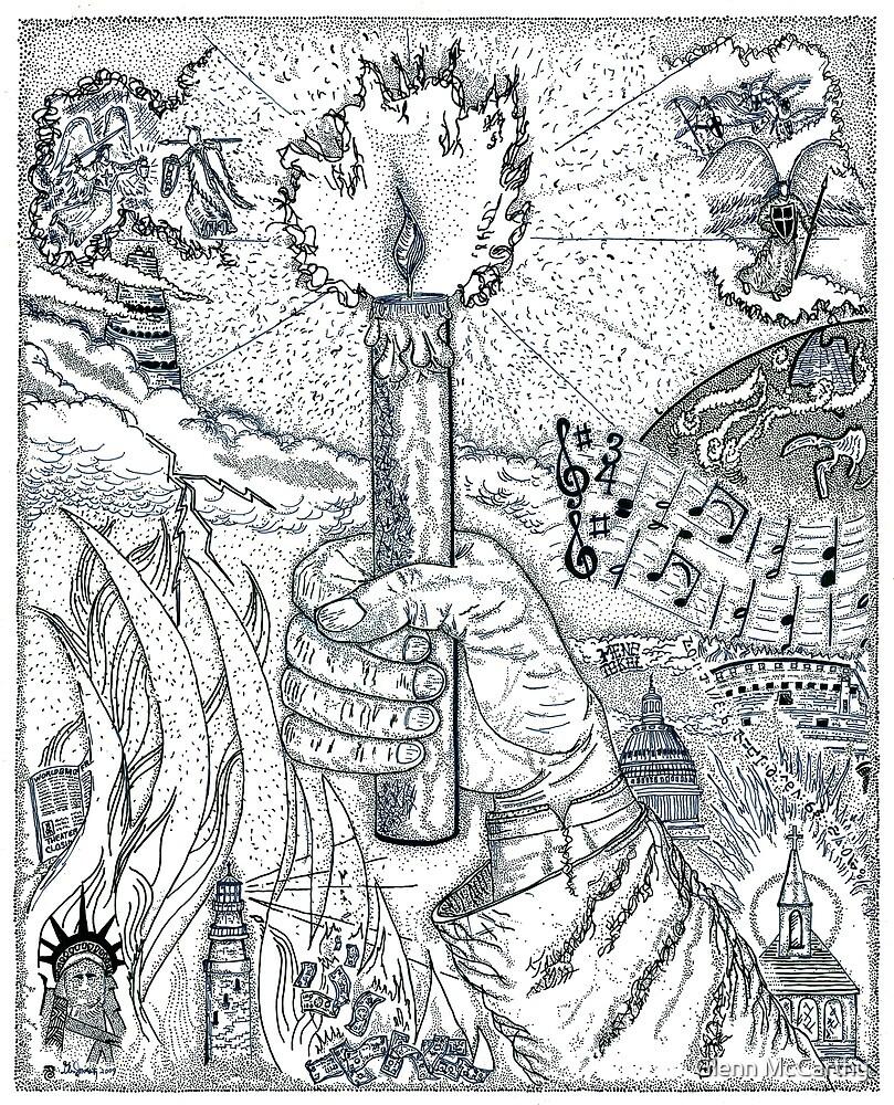 One Candle by Glenn McCarthy
