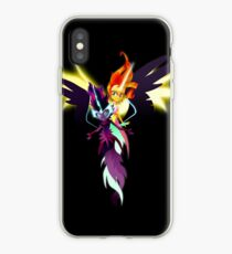 Sunset Shimmer and Twilight Sparkle iPhone Case