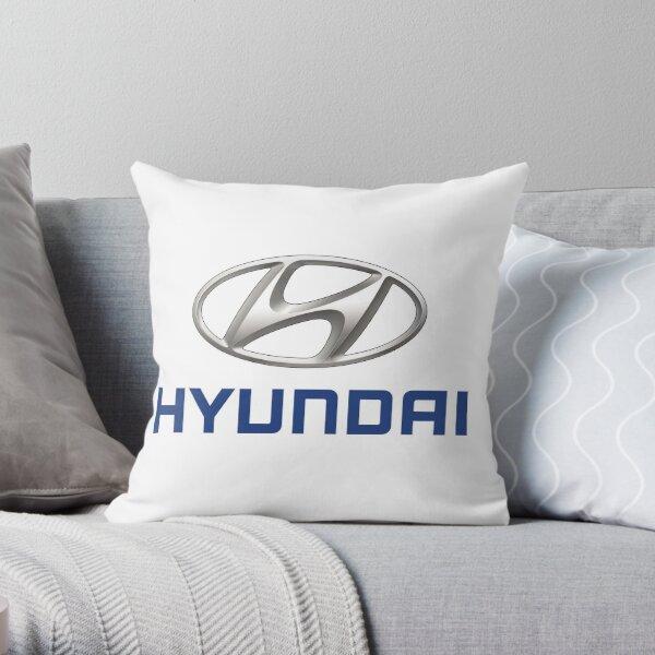Hyundai Logo Throw Pillow