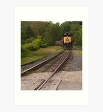 Cuyahoga Valley Scenic Railroad Art Print