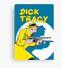 Dick Tracy - The Original Canvas Print