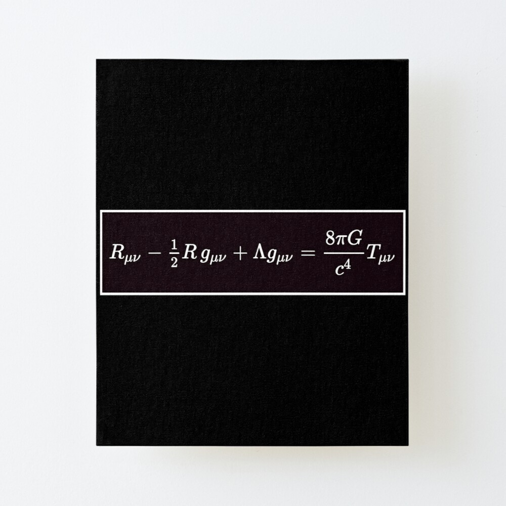 Einstein Field Equations, ur,mounted_print_canvas_portrait_small_front,square,1000x1000