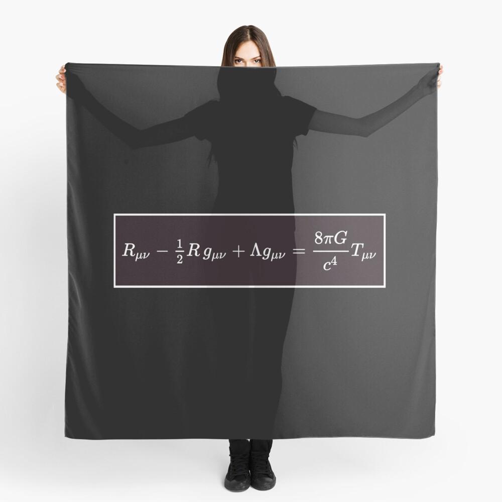 Einstein Field Equations, scarf,x1050-pad,1000x1000,f8f8f8