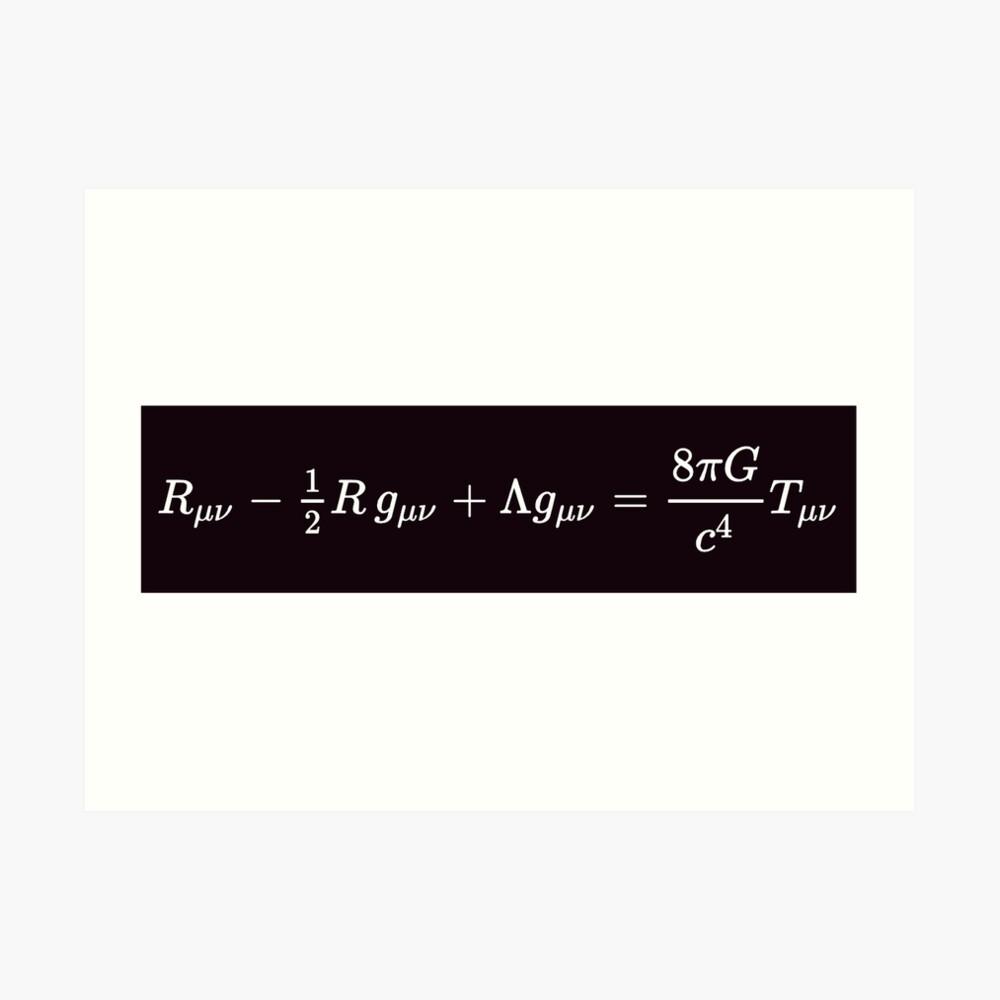 Einstein Field Equations, aps,840x830,small,transparent-pad,1000x1000,f8f8f8