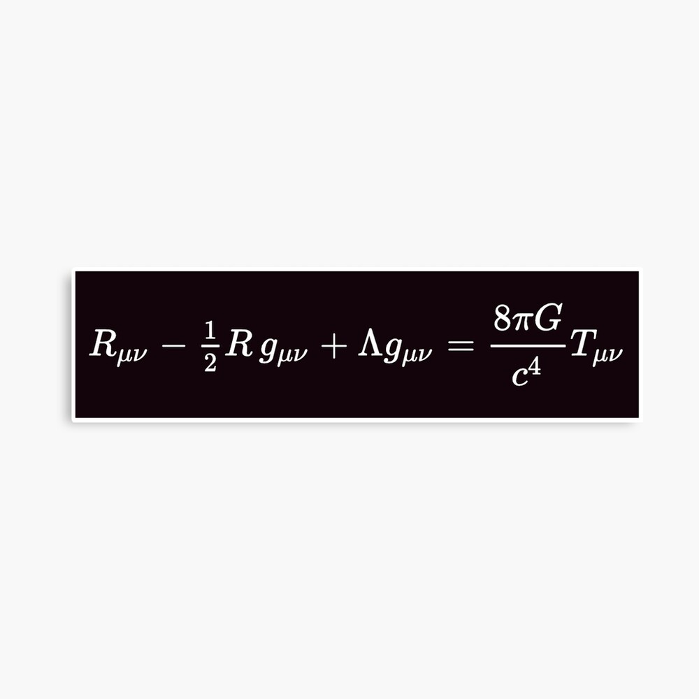 Einstein Field Equations, mp,840x830,matte,f8f8f8,t-pad,1000x1000,f8f8f8