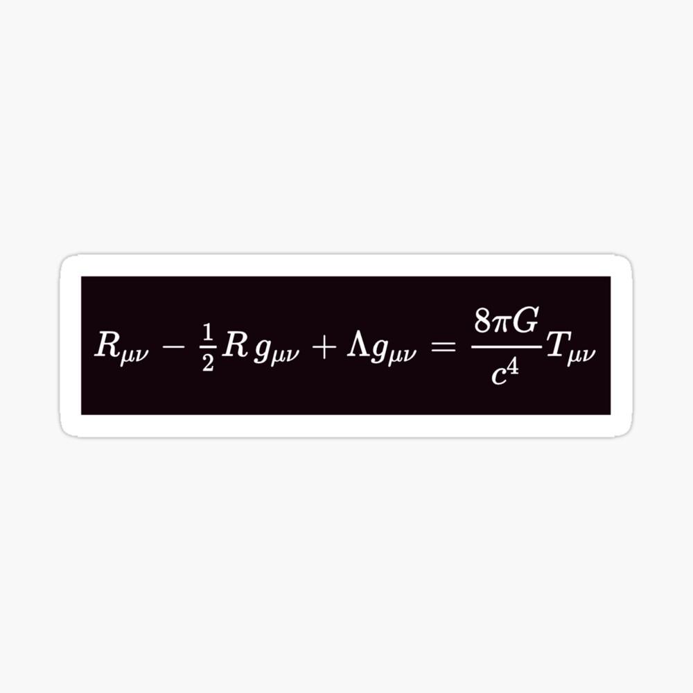 Einstein Field Equations, st,small,845x845-pad,1000x1000,f8f8f8
