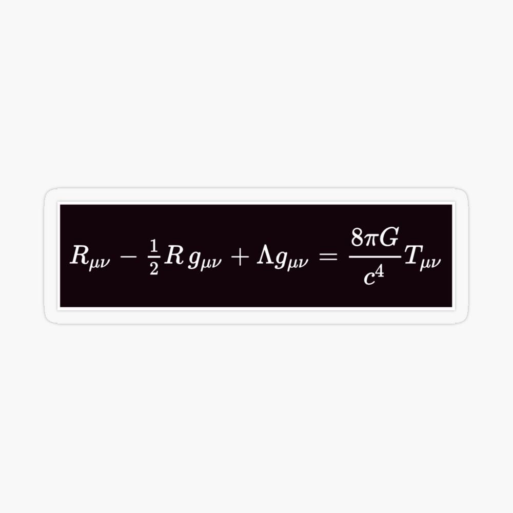 Einstein Field Equations, tst,small,845x845-pad,1000x1000,f8f8f8
