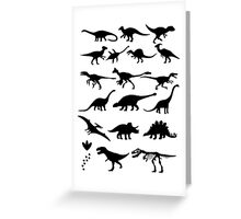 Dinosaur Selection Greeting Card