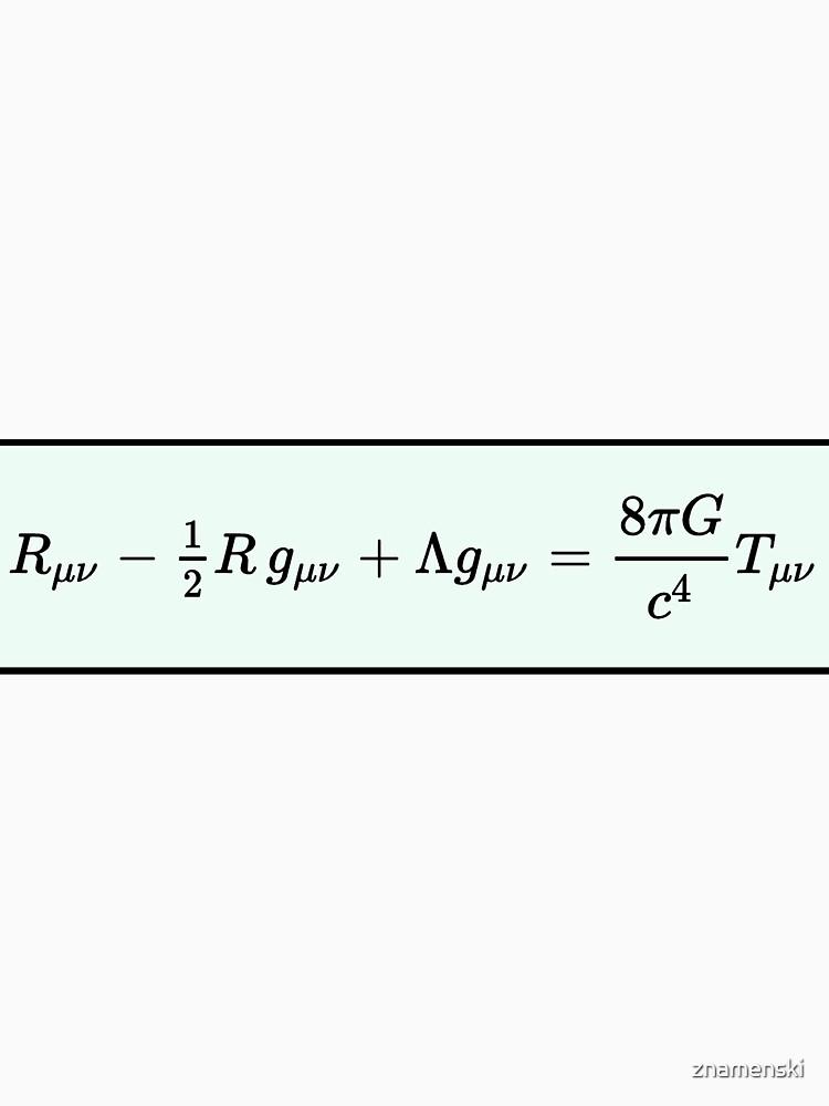Einstein Field Equations  by znamenski