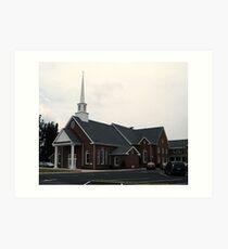 Rocky Hock Baptist Church Art Print