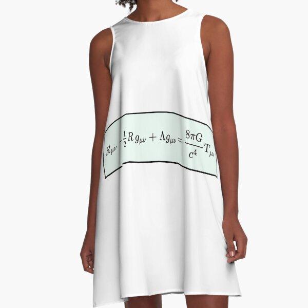 Einstein Field Equations  A-Line Dress