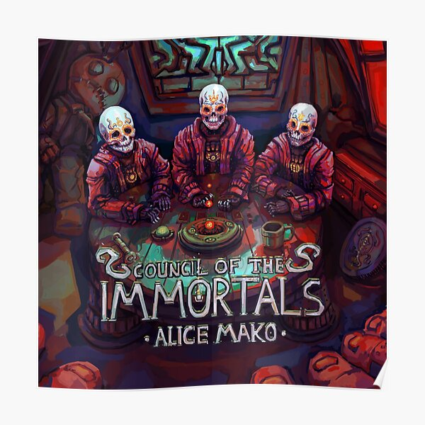 Council of the Immortals Poster