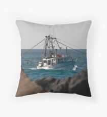 Tweed Trawlers #4 - Seaview Throw Pillow