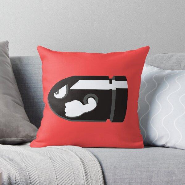 Bullet Bill Throw Pillow