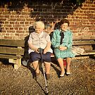 Old Lady's in the street. by alaskaman53