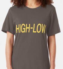 Kaiji; High-Low Slim Fit T-Shirt