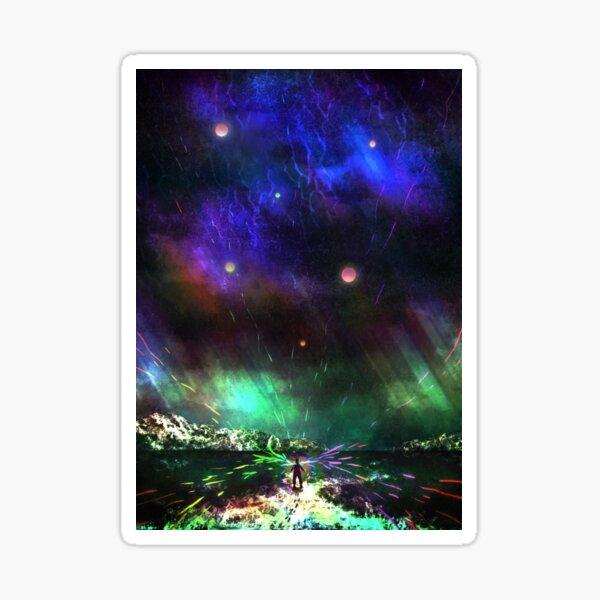 Sky Reflections Sticker