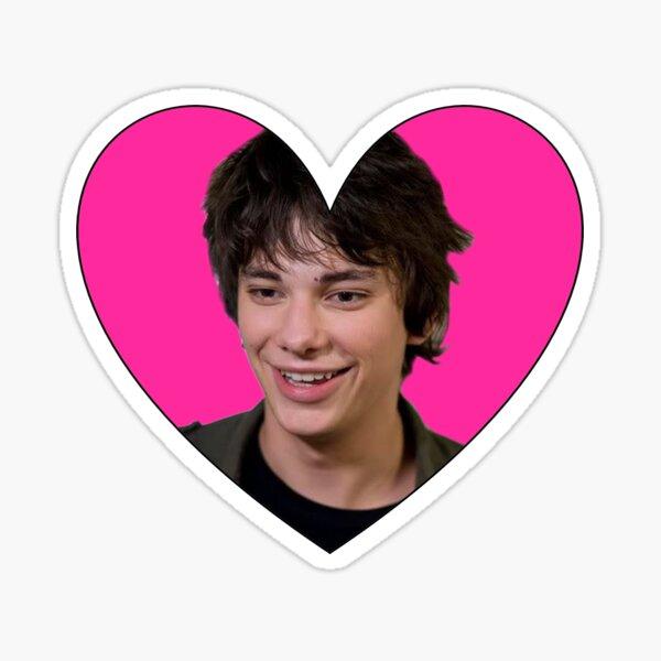 RODRICK LOVE HEART Sticker