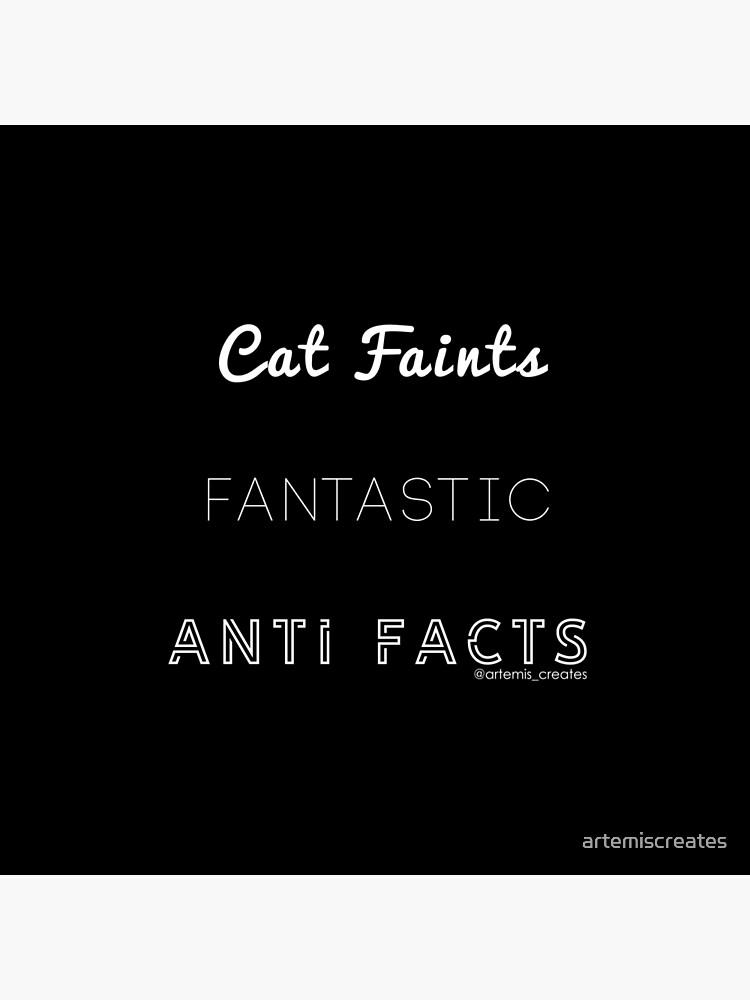 Fantastic Cat Faints by artemiscreates