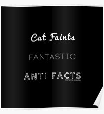 Fantastic Cat Faints Poster