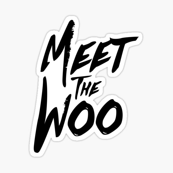 Pop Smoke Meet The Woo Sticker
