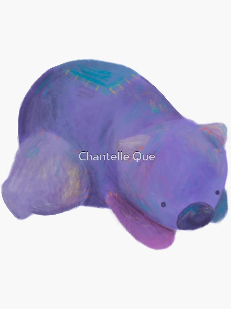 Wombat  by ChantelleQueArt