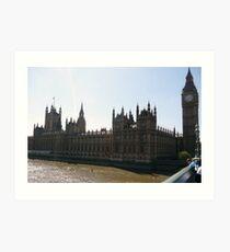 Houses of Parliment Art Print
