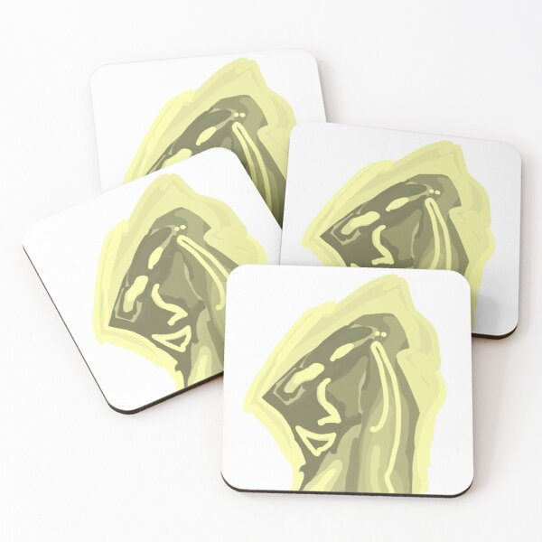 Melted enlightenment Coasters (Set of 4)