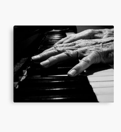 The Pianist Canvas Print