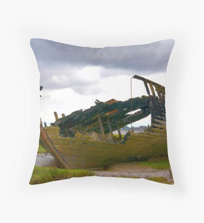 On The Marsh Throw Pillow