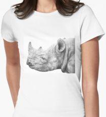 Black Rhino Women's Fitted T-Shirt